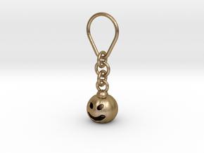 Halloween keychain  in Polished Gold Steel