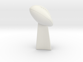 Deflategate Trophy in White Natural Versatile Plastic