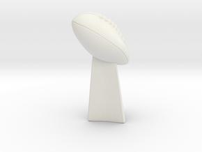 Deflategate Trophy in White Natural Versatile Plastic