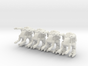Labor Walker Platoon 6mm in White Strong & Flexible