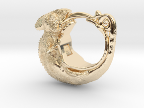 Chamereon Size13 in 14K Yellow Gold