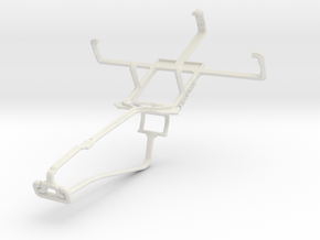 Controller mount for Xbox One Chat & NIU Niutek 3. in White Natural Versatile Plastic