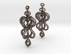 Vajraina in Polished Bronzed Silver Steel