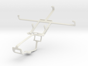 Controller mount for Xbox One & Panasonic P51 in White Natural Versatile Plastic