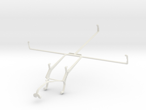 Controller mount for Xbox 360 & Panasonic Toughpad in White Natural Versatile Plastic