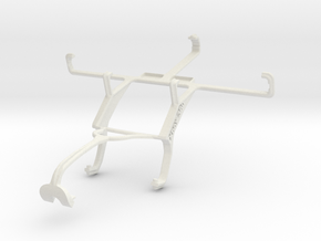 Controller mount for Xbox 360 & Pantech Discover in White Natural Versatile Plastic