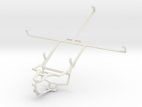 Controller mount for PS4 & Pantech Element in White Natural Versatile Plastic