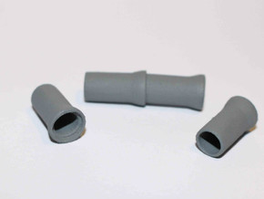 "N Sewer pipe ""ø1000mm"" 4pc in White Natural Versatile Plastic"