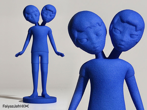 Siamese Boys in Blue Processed Versatile Plastic