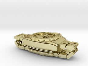 Wristwatch pendant top in 18k Gold