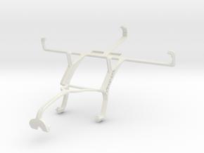 Controller mount for Xbox 360 & Pantech Vega R3 IM in White Natural Versatile Plastic