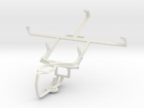 Controller mount for PS3 & Pantech Vega LTE EX IM- in White Natural Versatile Plastic