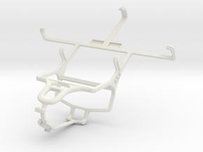 Controller mount for PS4 & Pantech Vega LTE EX IM- in White Natural Versatile Plastic
