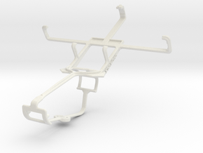 Controller mount for Xbox One & Philips W635 in White Natural Versatile Plastic