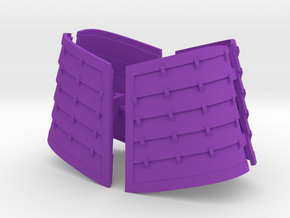 Devout Thigh Armor in Purple Strong & Flexible Polished