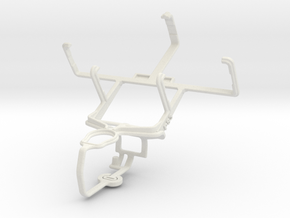 Controller mount for PS3 & Philips W930 in White Natural Versatile Plastic