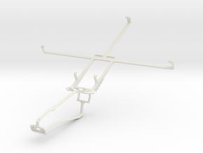 Controller mount for Xbox One Chat & Prestigio Mul in White Natural Versatile Plastic