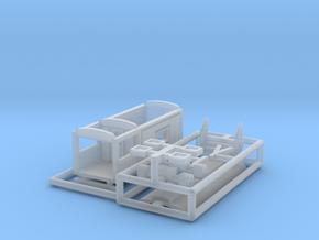 """""""Wahrsagerwagen"""" - 1:220 (Z scale) in Smooth Fine Detail Plastic"""