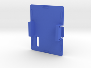 FrSky Taranis/JR style Transmitter RF Module Cap / in Blue Processed Versatile Plastic