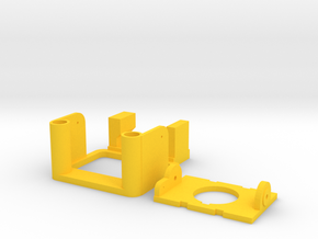 ZMR250 Tilt  with frame v2 in Yellow Processed Versatile Plastic