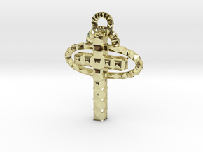 Cross in 18K Gold Plated