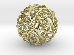 Starfish's Ball in 18K Gold Plated