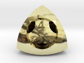 Overstuffed Die4 in 18K Gold Plated