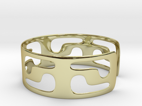 Bracciale05_d70mm in 18K Gold Plated