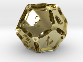 Large Premier d12 in 18K Gold Plated