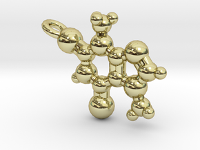Theobromine Necklace in 18K Gold Plated