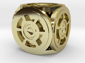 Circle Die in 18K Gold Plated