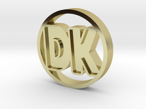 DK Coin in 18K Gold Plated