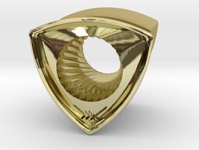 Kiuno ear plug 12 By Jielt Gregoire in 18K Gold Plated