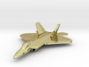 F-22 Raptor (large) in 18K Gold Plated