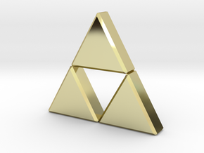 Triforce in 18K Gold Plated