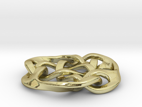 celtic knot 30mm in 18K Gold Plated