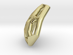 Trangular Tile1 in 18K Gold Plated
