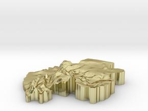 Gabon Earring in 18K Gold Plated