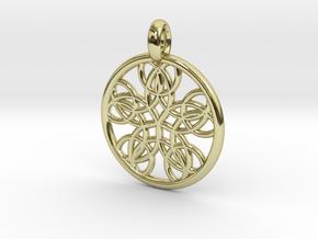 Isonoe pendant in 18K Gold Plated