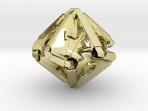 Stretcher d10 in 18K Gold Plated