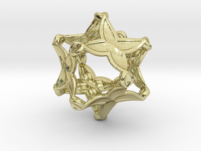 Artefact 4D in 18K Gold Plated