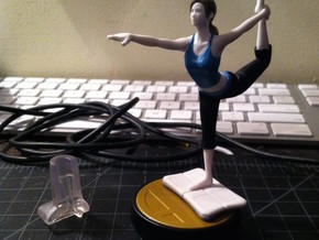 Balance Board for Wii Fit Trainer amiibo in White Natural Versatile Plastic