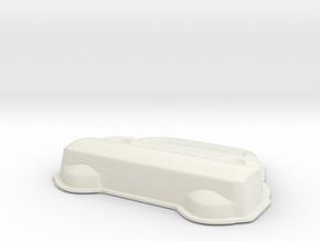 Car V10 in White Natural Versatile Plastic