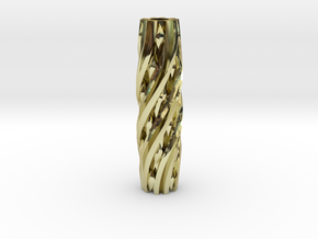 Razor Handle (Twisted Diamonds) in 18K Gold Plated
