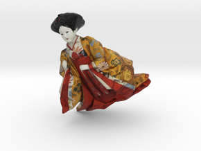 The Japanese Hina Doll-8 in Full Color Sandstone