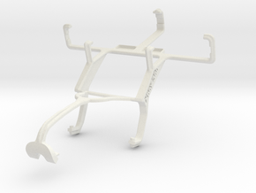 Controller mount for Xbox 360 & Samsung Galaxy Y P in White Natural Versatile Plastic