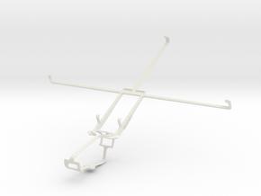 Controller mount for Xbox One & Samsung Google Nex in White Natural Versatile Plastic