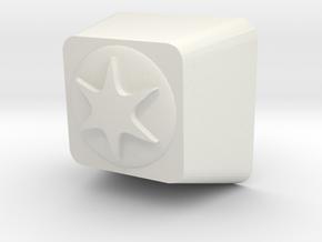 Pokemon Colorless Type Cherry MX Keycap in White Natural Versatile Plastic