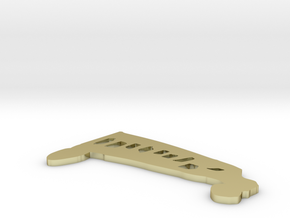 Bus Liam 2.2 by .15 in White Natural Versatile Plastic