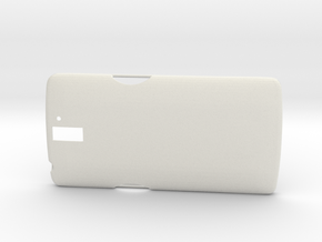 OnePlus One Case V2 in White Natural Versatile Plastic
